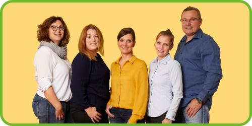 Das Team der Praxis SprechZeit für Logopädie und Sprachtherapie Bochum